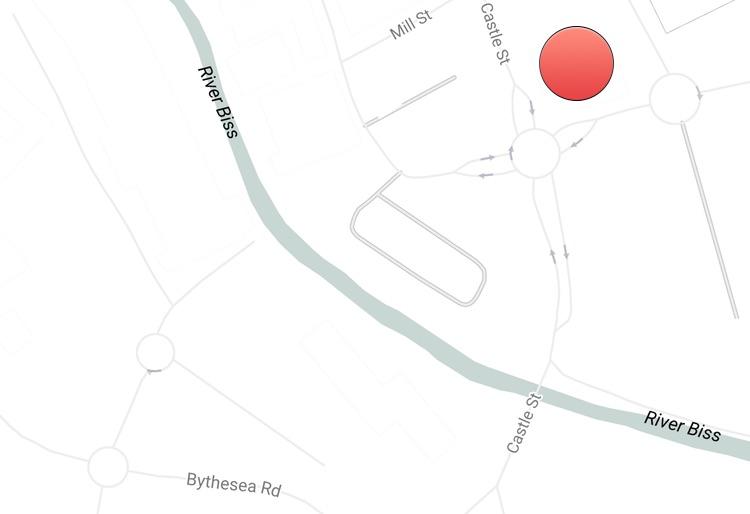 Castle Street Map